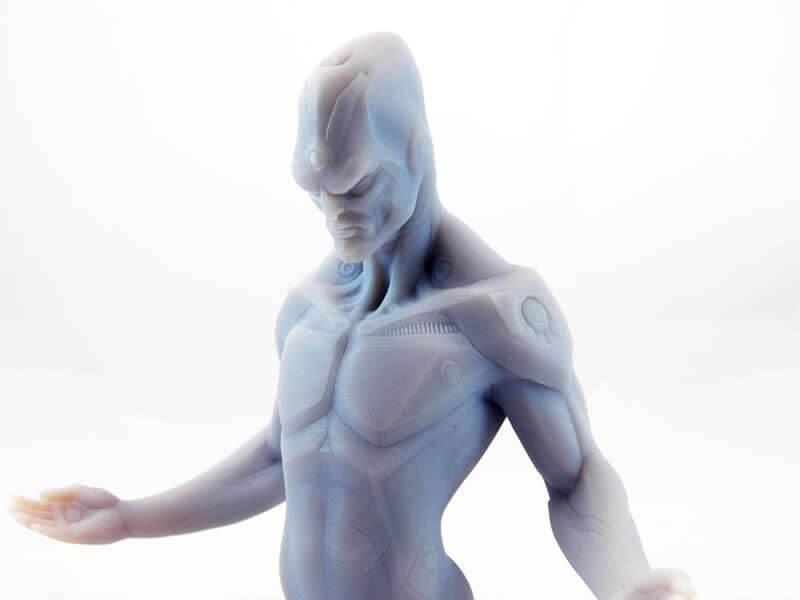 Image exemple pièce réalisée avec EDEN260V, figurine