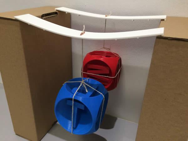 Test comparatif de la rigidité des ABS en dépôt de fil