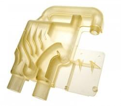 Matériau résine translucide jaune FullCure720 pour impression 3D
