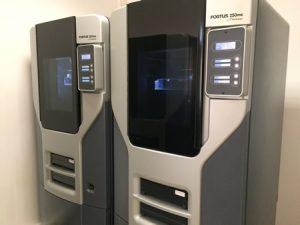 Des imprimantes 3D Fortus 250MC de Stratasys
