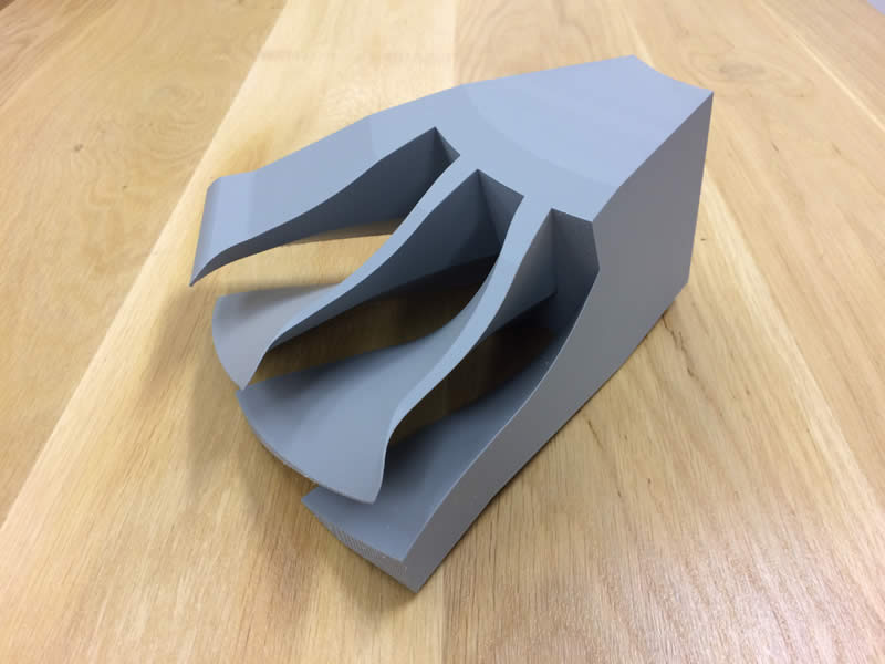 Hélice fabriquée par impression 3D FDM