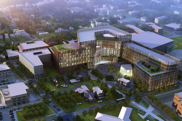 Université de Buffalo en 3D.