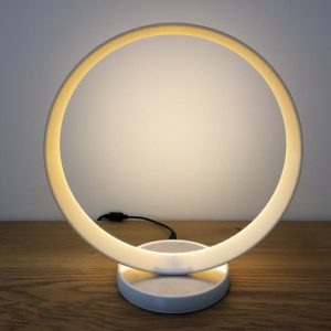 Luminaire rond LED, imprimé en 3D. Modèle 1.