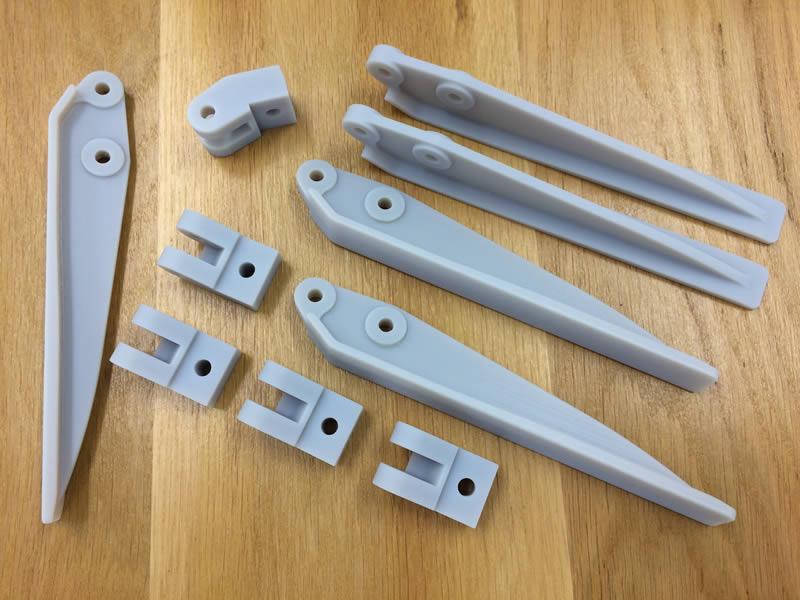 Eléments de portes fabriqués avec une imprimante 3D