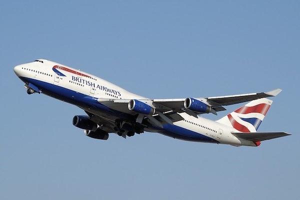 Avions de British Airways avec des pièces d'impression 3D