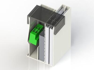 Boitier électronique réalisé par modélisation 3D
