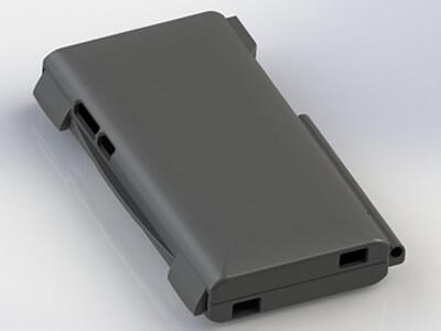 Boitier de téléphone portable réalisé par modélisation 3D