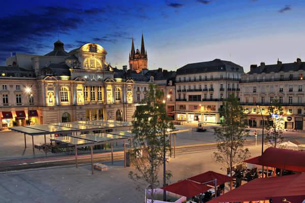 Impression 3D dans la ville de Angers.