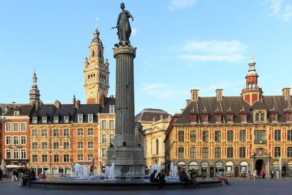 Impression 3D dans la ville de Lille.