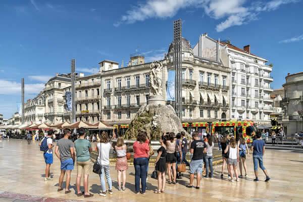 Impression 3D dans la ville de Montpellier.