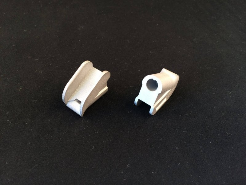 Impression 3D métal d'une buse d'extrusion pour le secteur de l'automobile.